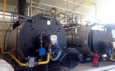 Calderas de vapor de 14.000 kg.