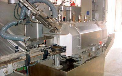 Cerradora para frascos con tapa de 45mm a 98mm de diámetro