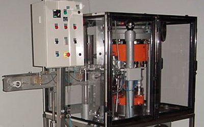 Cerradora de latas de ocasión AGM 4 para latas cilíndricas
