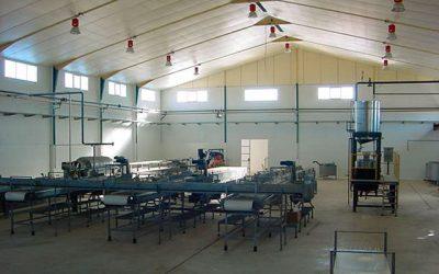 Línea de fabricación de pimiento químico